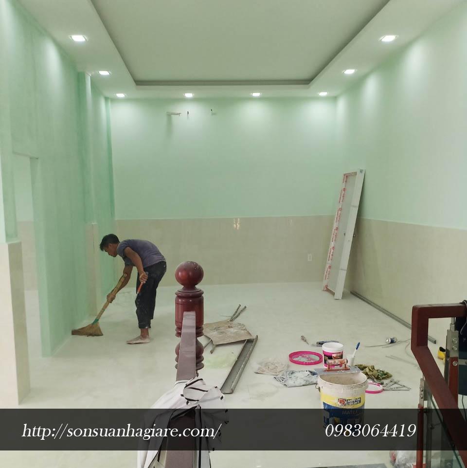 Thợ sơn nhà giá rẻ
