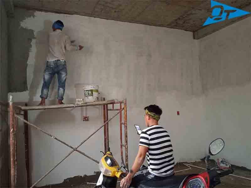 Thợ sơn nhà giá rẻ Quyết Thắng
