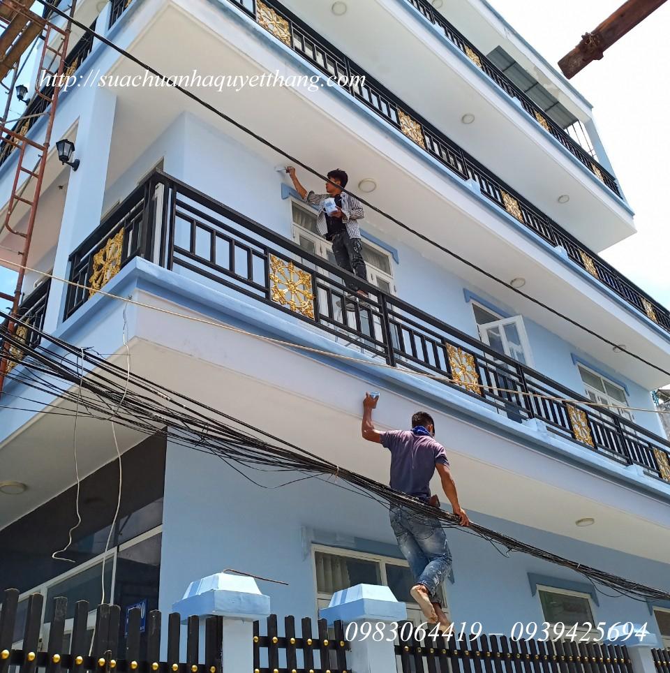 Thợ sơn nhà giá rẻ Quyết Thắng 2