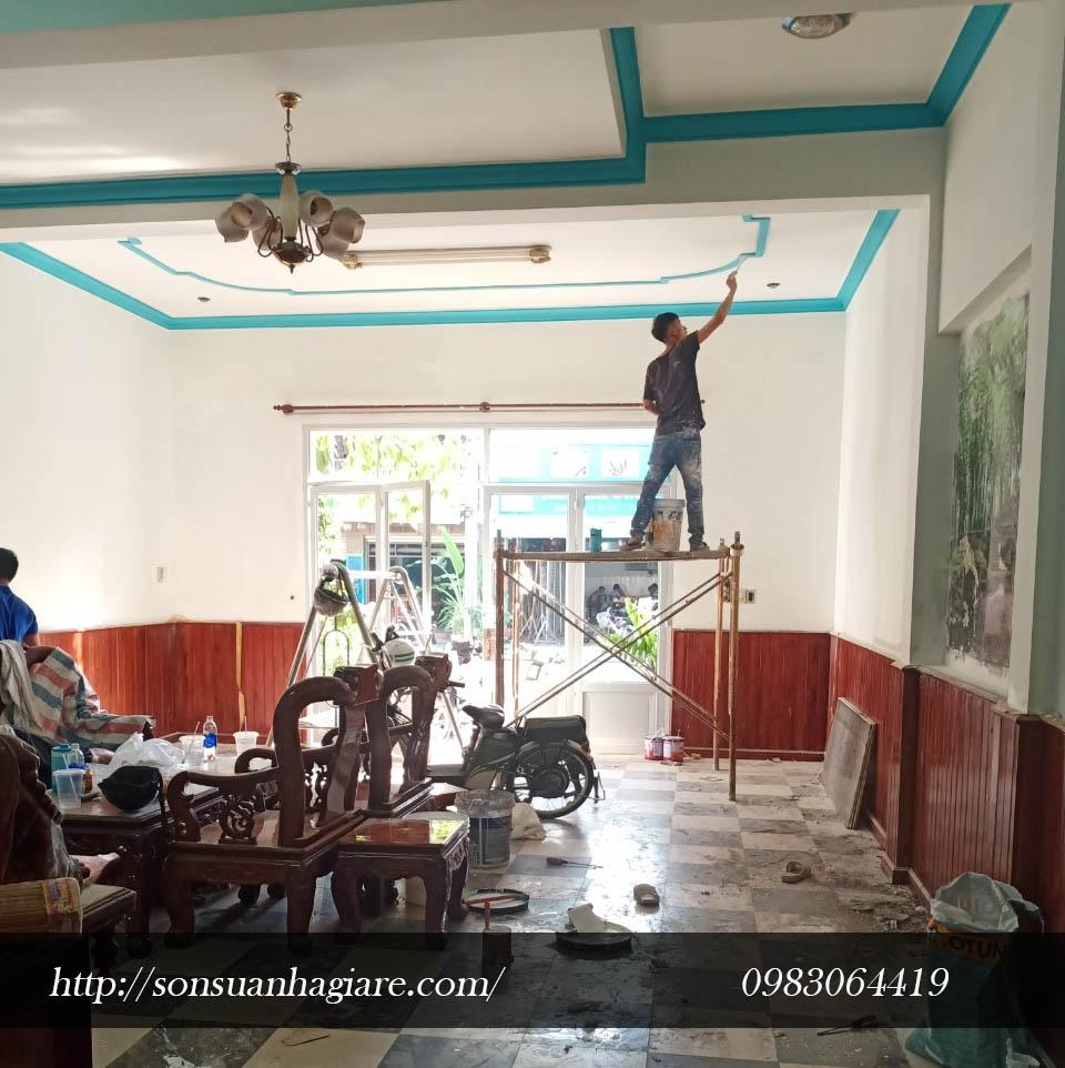 Thợ sơn nhà giá rẻ tại quận 4 1a