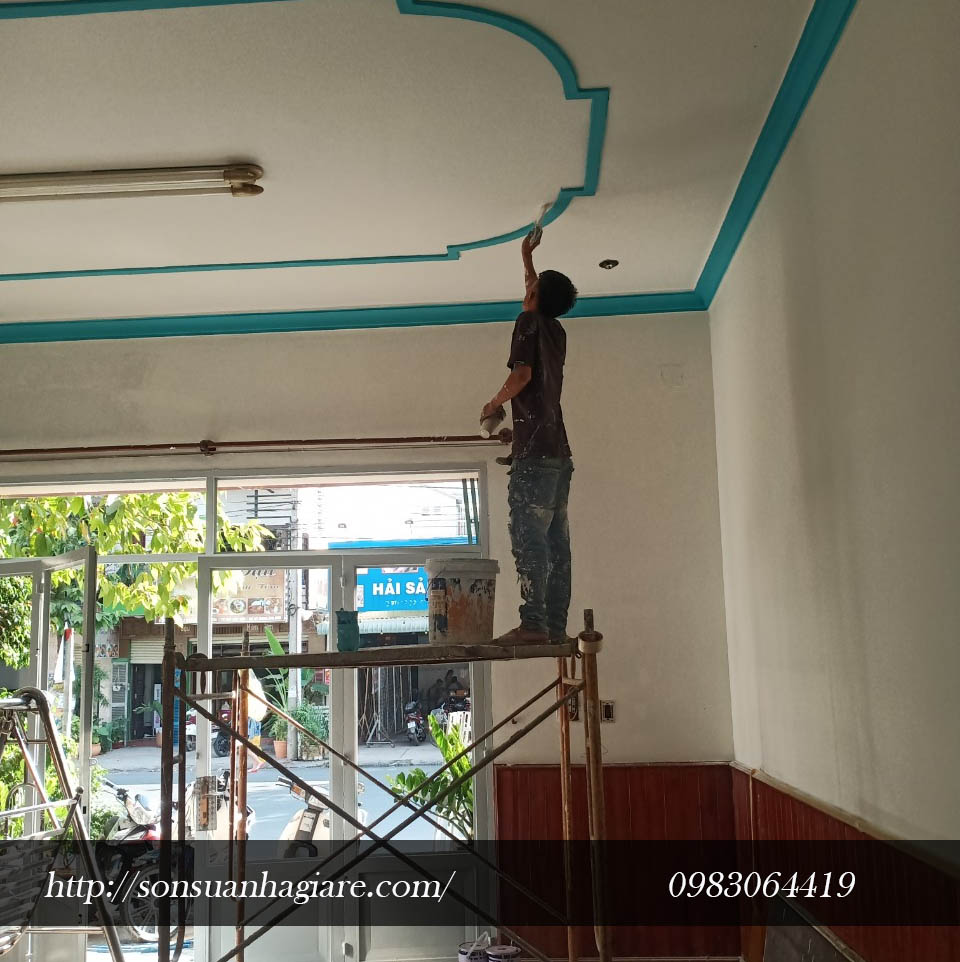 Thợ sơn nhà giá rẻ tại quận 4 1c