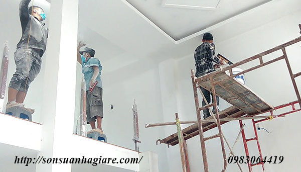Thợ sơn nhà giá rẻ tại quận 4