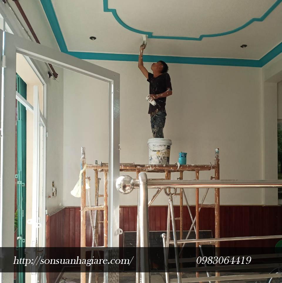 Thợ sơn nhà giá rẻ tại quận 4 2cd