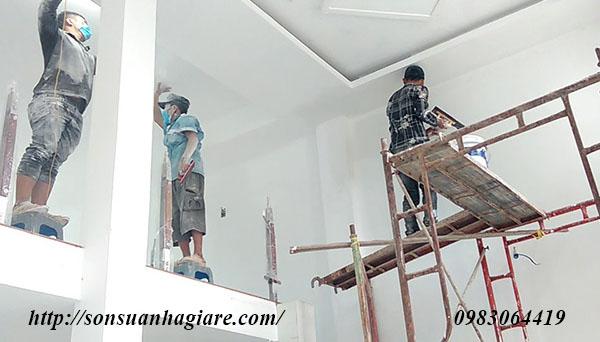 Thợ sơn nhà giá rẻ tại quận 3 1a