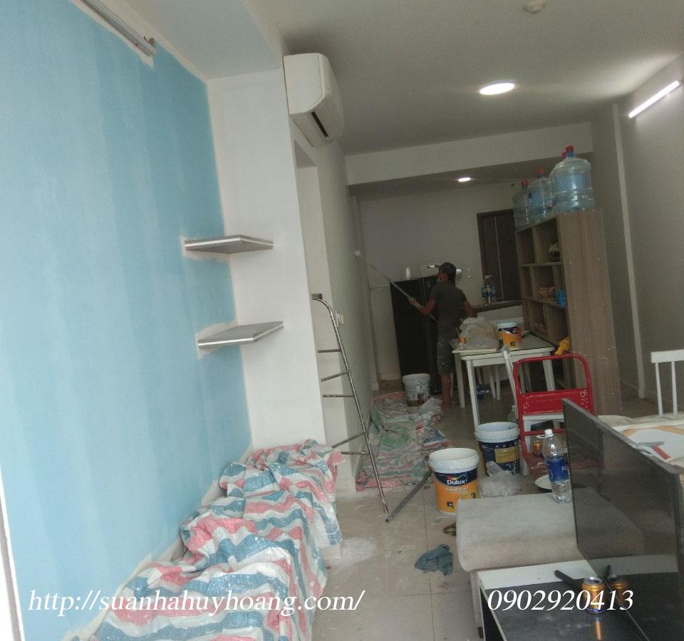 Thợ sơn nhà giá rẻ tại quận 3 1b