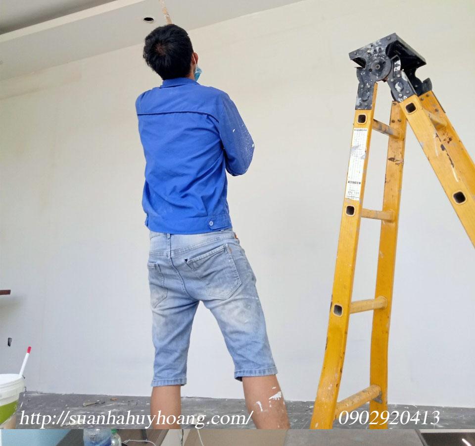 Thợ sơn nhà giá rẻ tại quận 3 1c