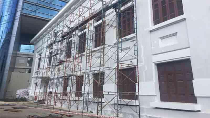 Thợ sơn nhà giá rẻ Quyết Thắng 3