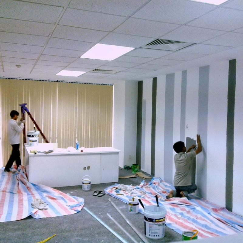 Thợ sơn nhà giá rẻ Quyết Thắng 77