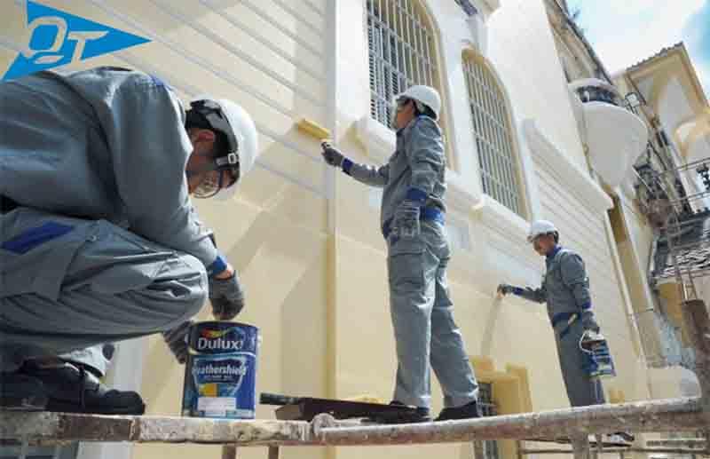Thợ sơn nhà giá rẻ Quyết Thắng 555