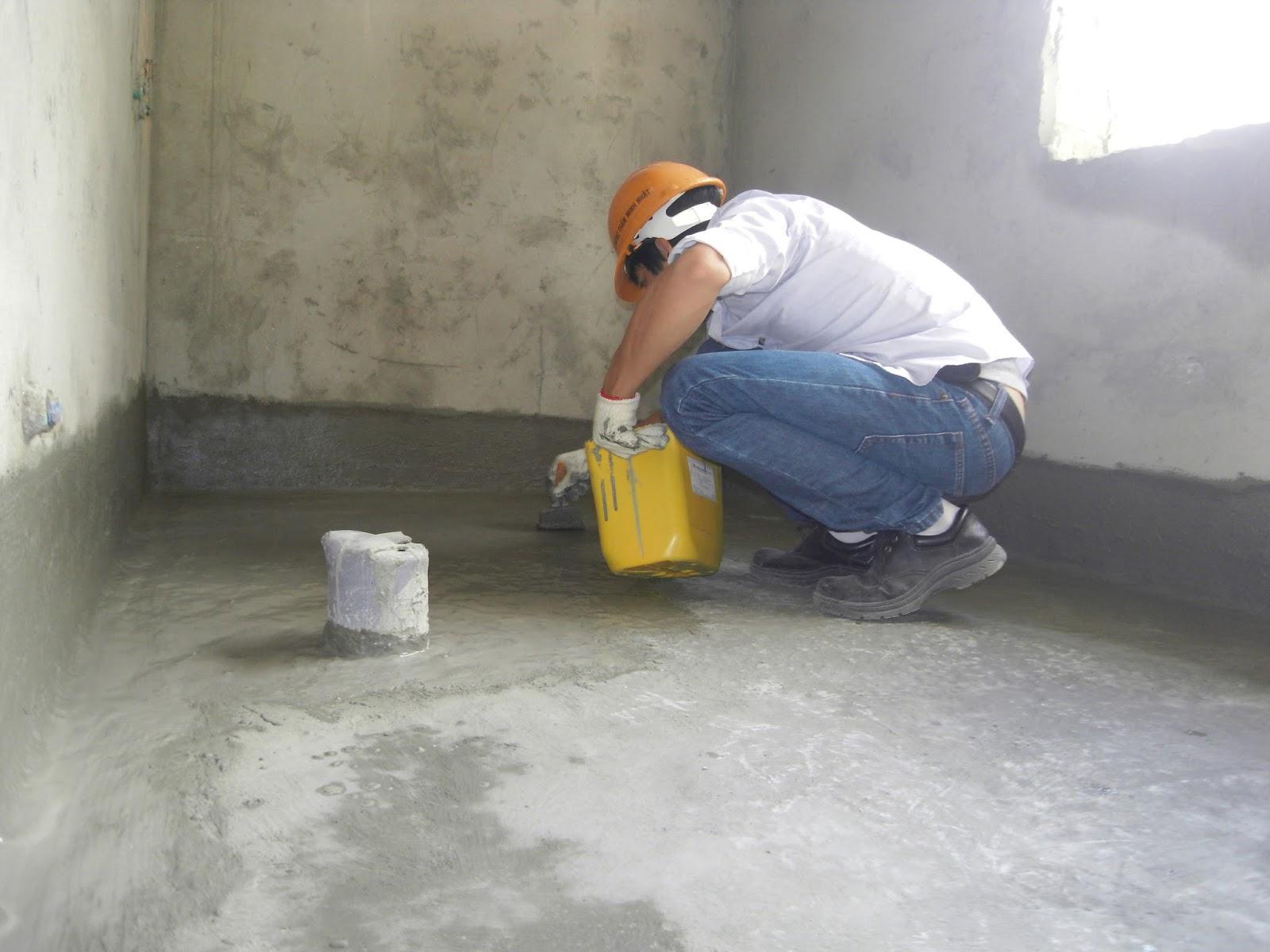 xử lý chống thấm bề mặt sơn